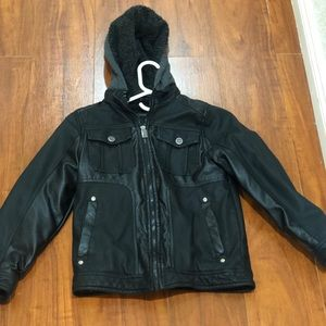 c3754500 Urban Republic. Boy's Faux Leather Officer Jacket